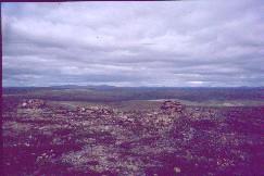 Uhtsa Keätkepassilta pohjoiseen 1.8.2002