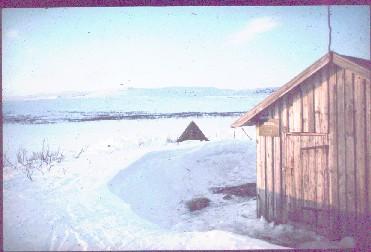 Jogasjärvellä illalla 21.4.1980