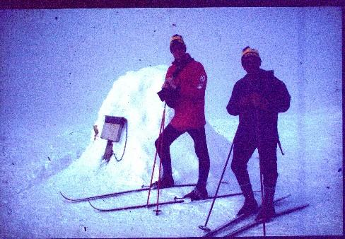 Eeron kanssa Haltilla 23.4.1980
