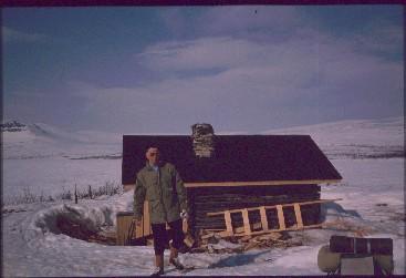 Jogasjärven tupa 16.4.1990