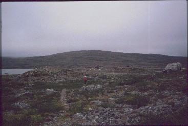 Lähestymme Saarijärven tupaa 19.8.1991