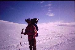 Seppo reissun loppupuolella 22.4.1993