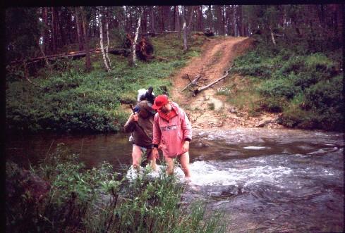Kiertämäojan yli aivan Luton lähellä 17.7.1994