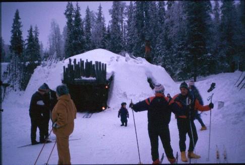 Henna Velhonkodalla jouluaattona24.12.1997