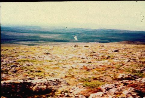 Guovdaoaivilta länteen 17.7.1998