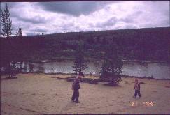 Luulammen hietikoita 31.7.1999