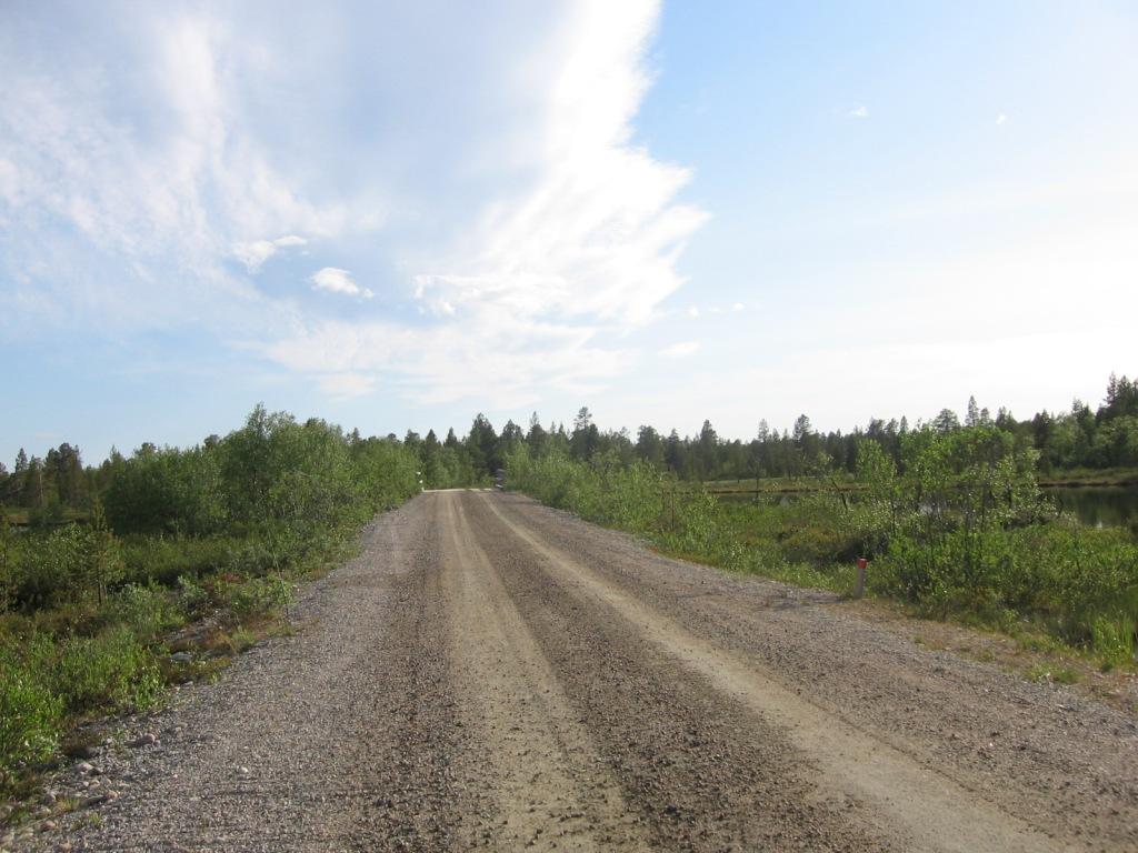 Ahvenjärven tie 29.6.2009