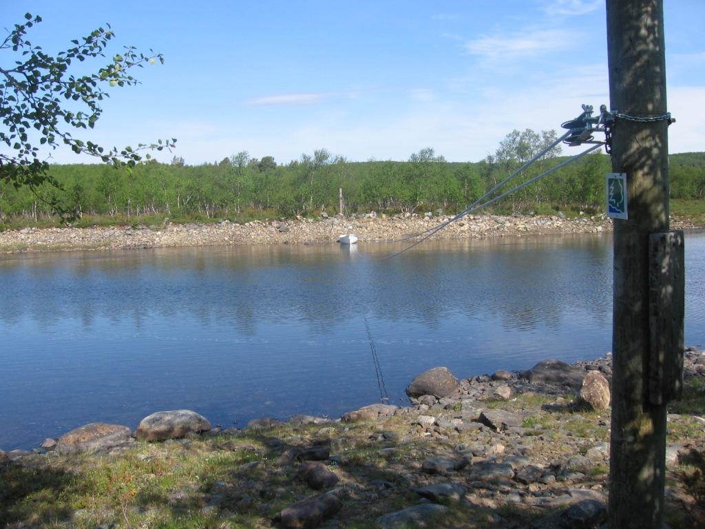 Silisjoen venelossi 30.6.2009