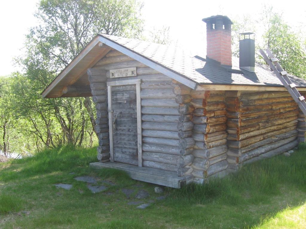 Iisakkijärven autiotupa 30.6.2009