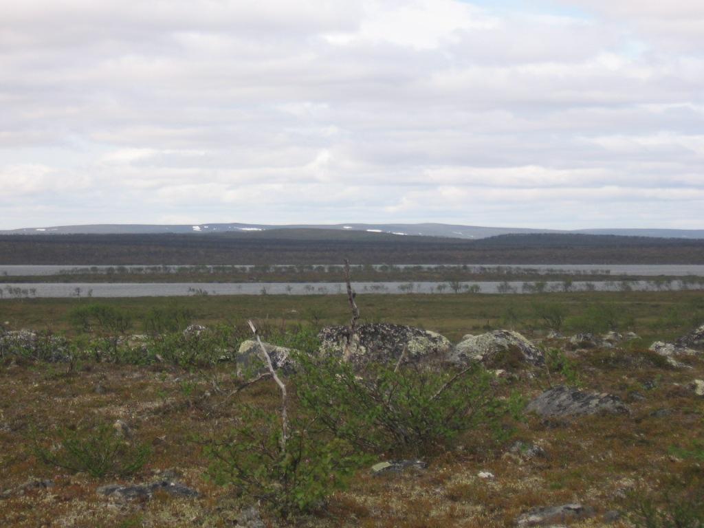 Carajavrrit (Tsaarajärvi) 1.7.2009