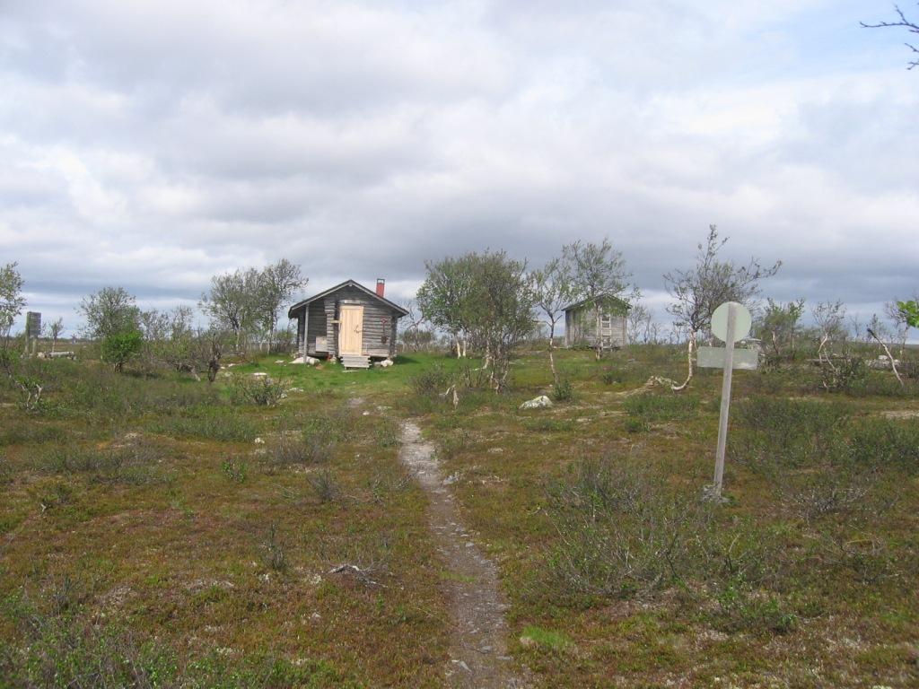 Tsaarajärven autiotupa 1.7.2009