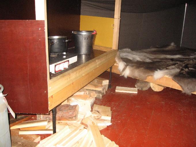 Sioskurun 'autiotupa' 22.3.2007