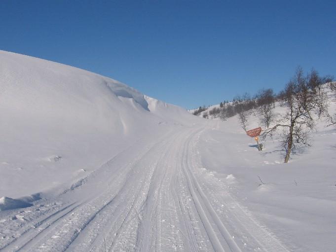 Sioskurusta kohti Pyhäkeroa 23.3.2007