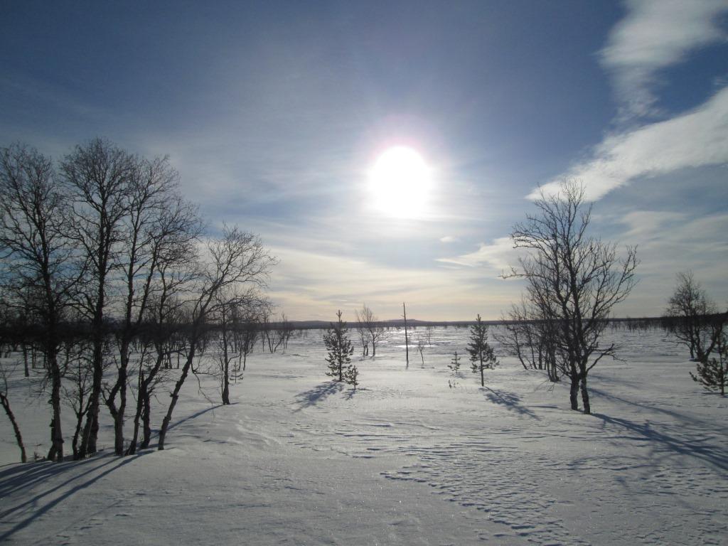 Sallivaara näkyy jo 26.3.2014