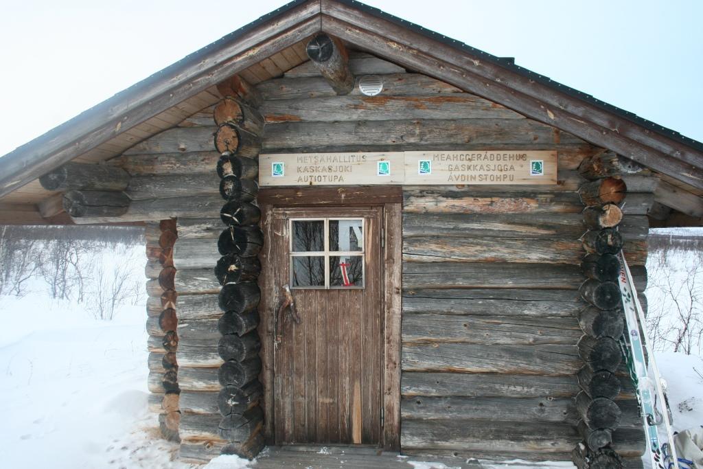 Kaskasjoen tupa 24.3.2015