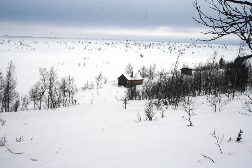 Salvasjärven tupa 22.3.2017