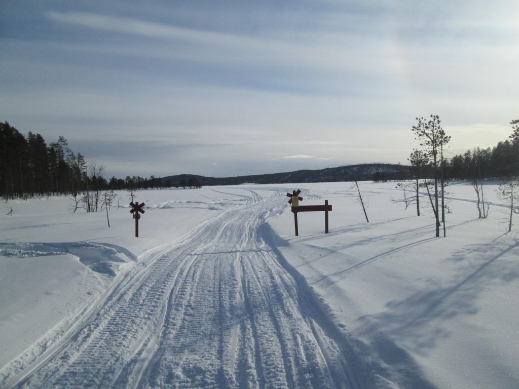 Kohti Särkijärveä 17.3.2019