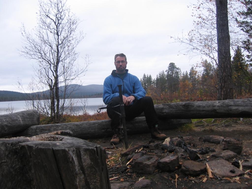 Saunapuhtaana Luirojärvellä 22.9.2008